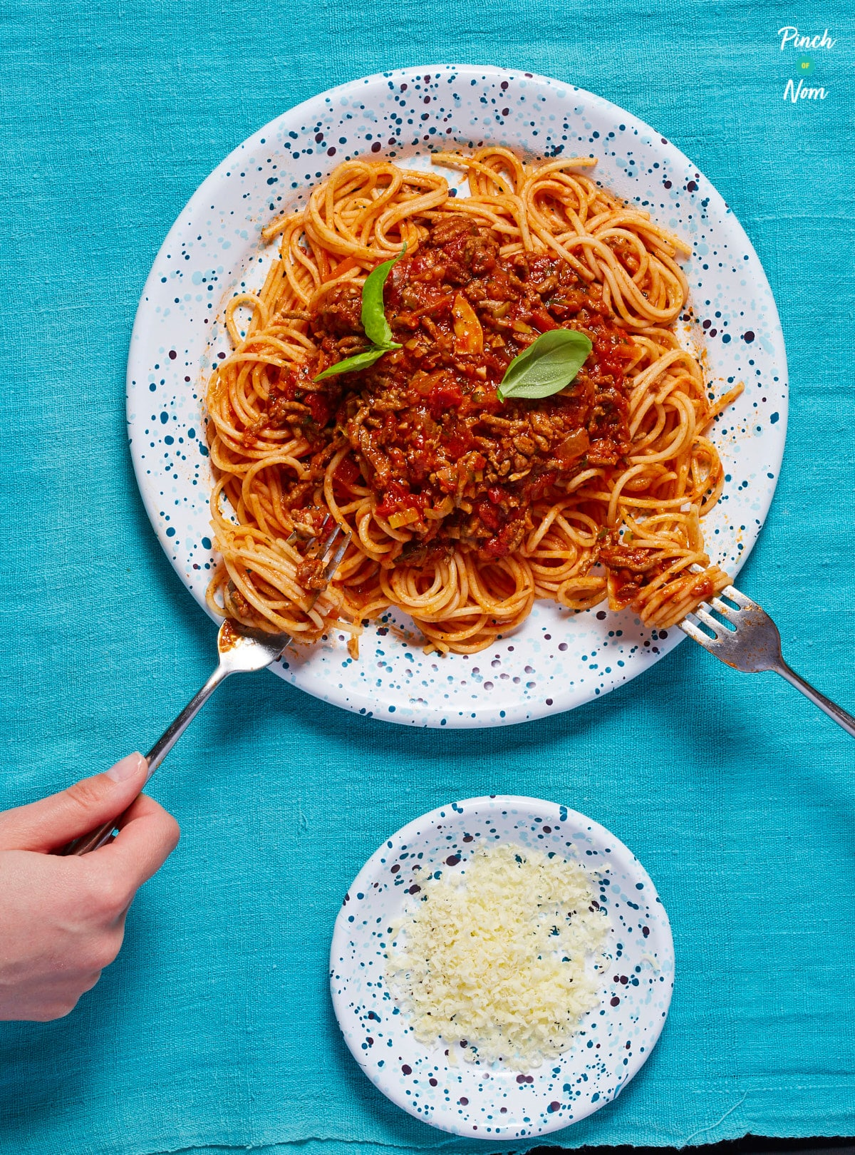 Spaghetti Bolognese - Pinch of Nom Slimming Recipes