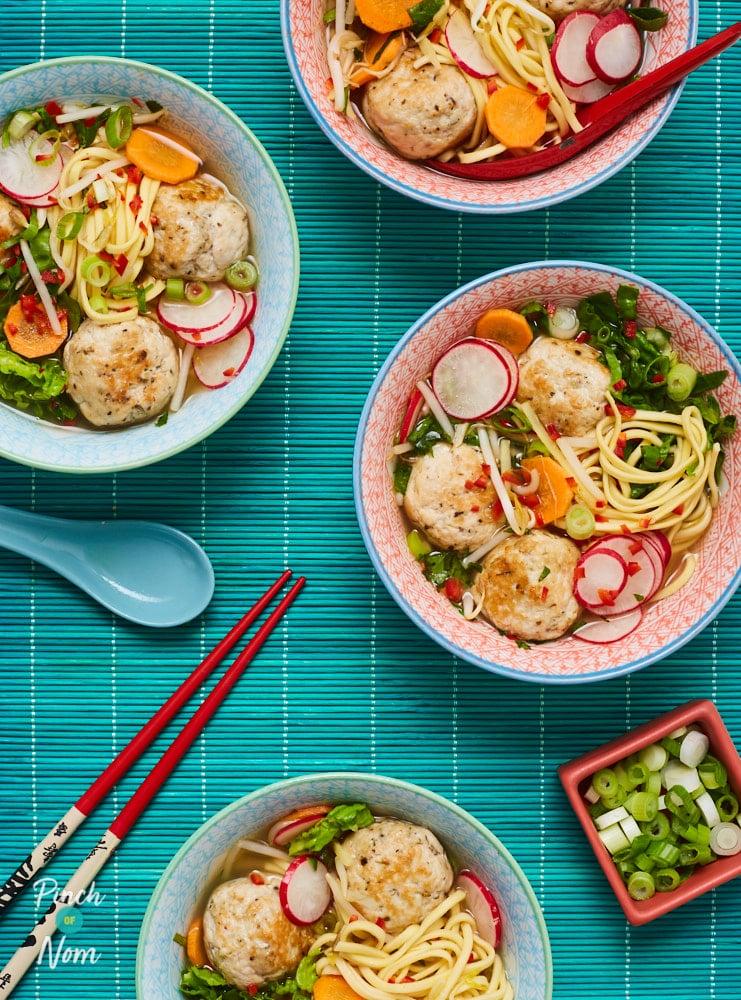 Turkey Bun Cha - Pinch of Nom Slimming Recipes