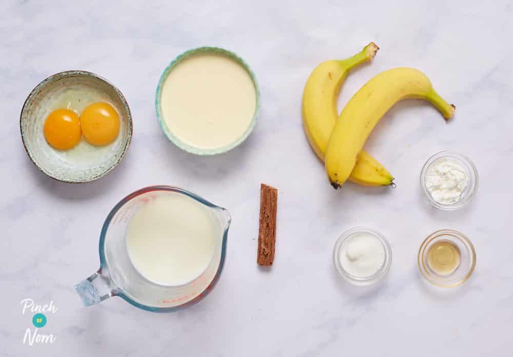 Banana Cream Pudding - Pinch of Nom Slimming Recipes