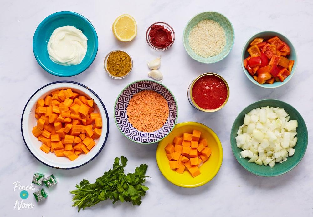Mulligatawny Soup - Pinch of Nom Slimming Recipes
