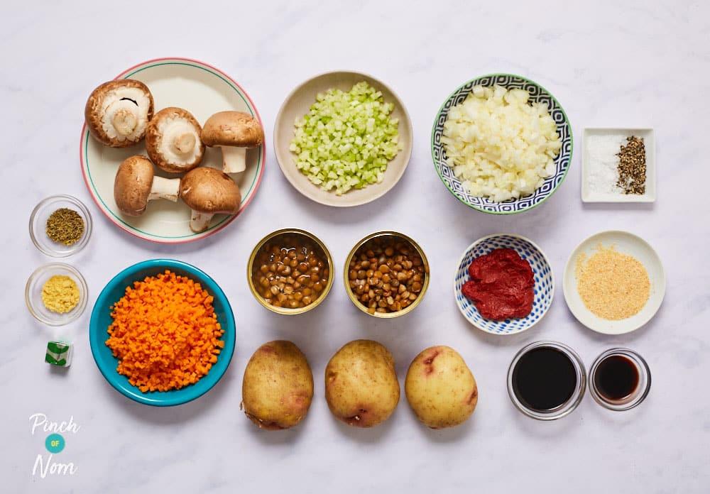 Vegan Lentil Hotpot - Pinch of Nom Slimming Recipes