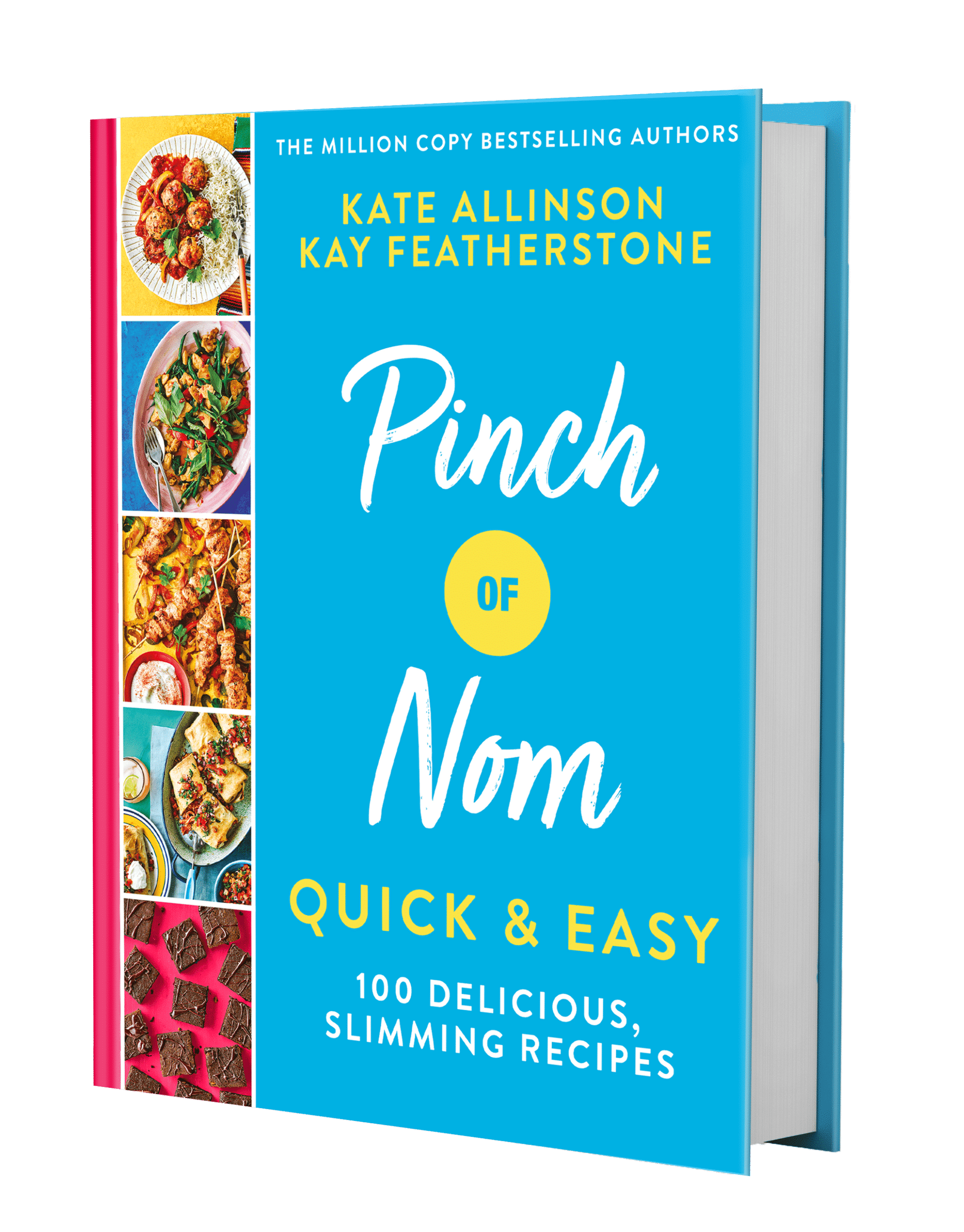 Order Our Third Cookbook Now! pinchofnom.com
