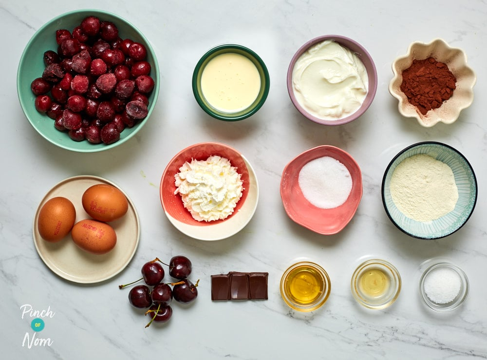Black Forest Desserts - Pinch of Nom Slimming Recipes