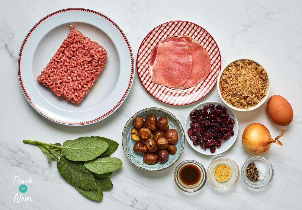 Chestnut Stuffing - Pinch of Nom Slimming Recipes