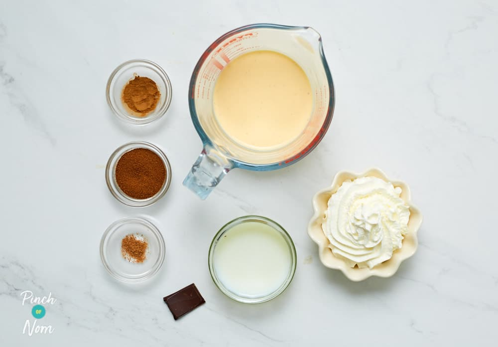 Eggnog Latte - Pinch of Nom Slimming Recipes