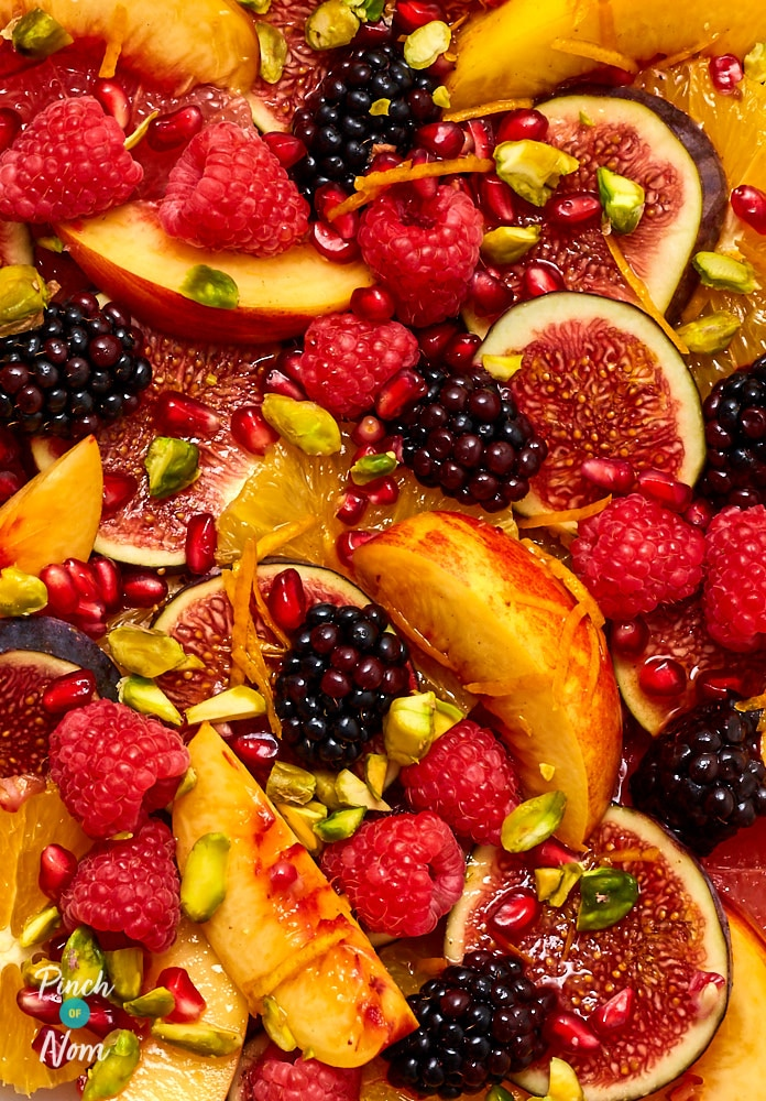 Festive Fruit Salad - Pinch of Nom Slimming Recipes