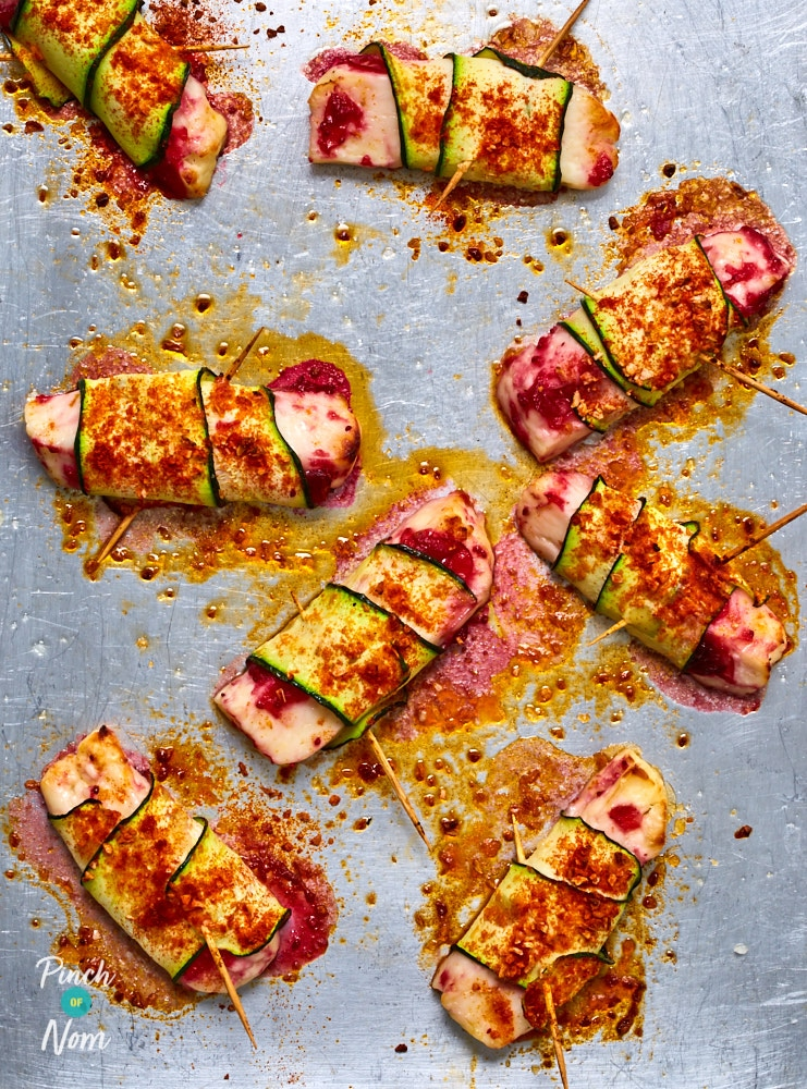 Halloumi in Blankets - Pinch of Nom Slimming Recipes