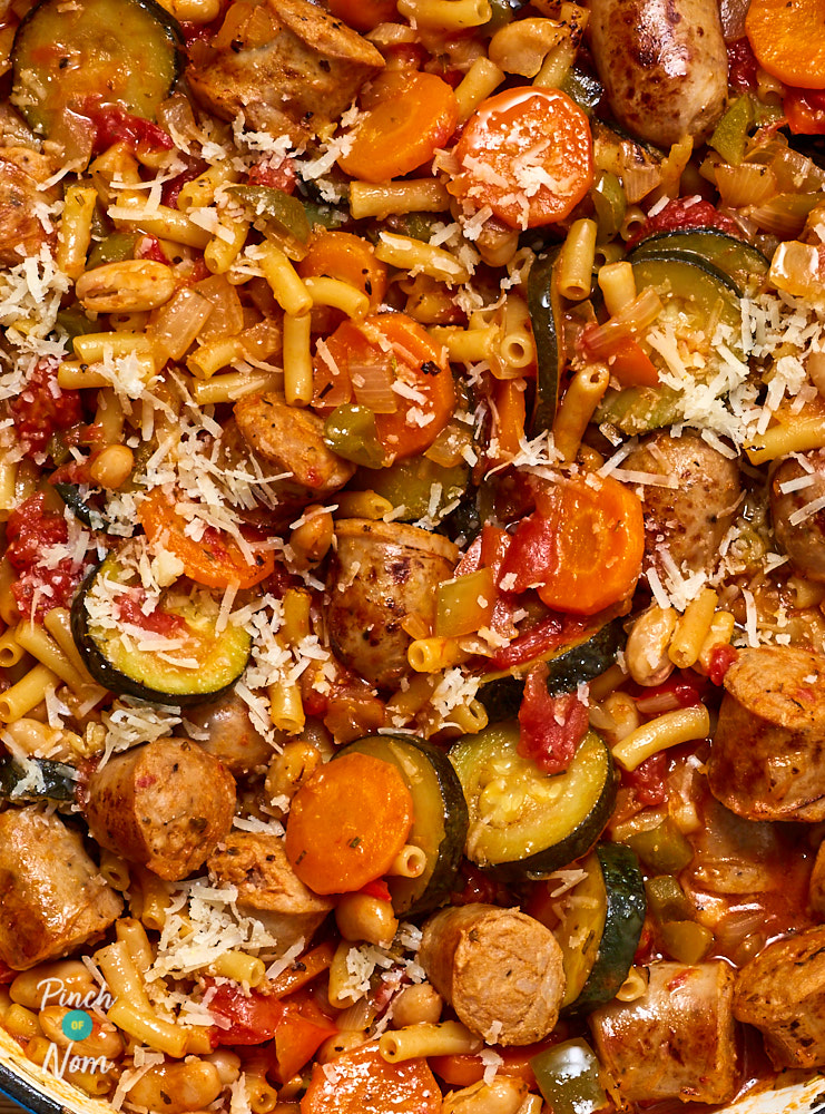 Italian Sausage Stew - Pinch of Nom Slimming Recipes