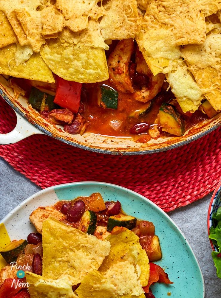 Mexican Chicken Bake - Pinch of Nom Slimming Recipes