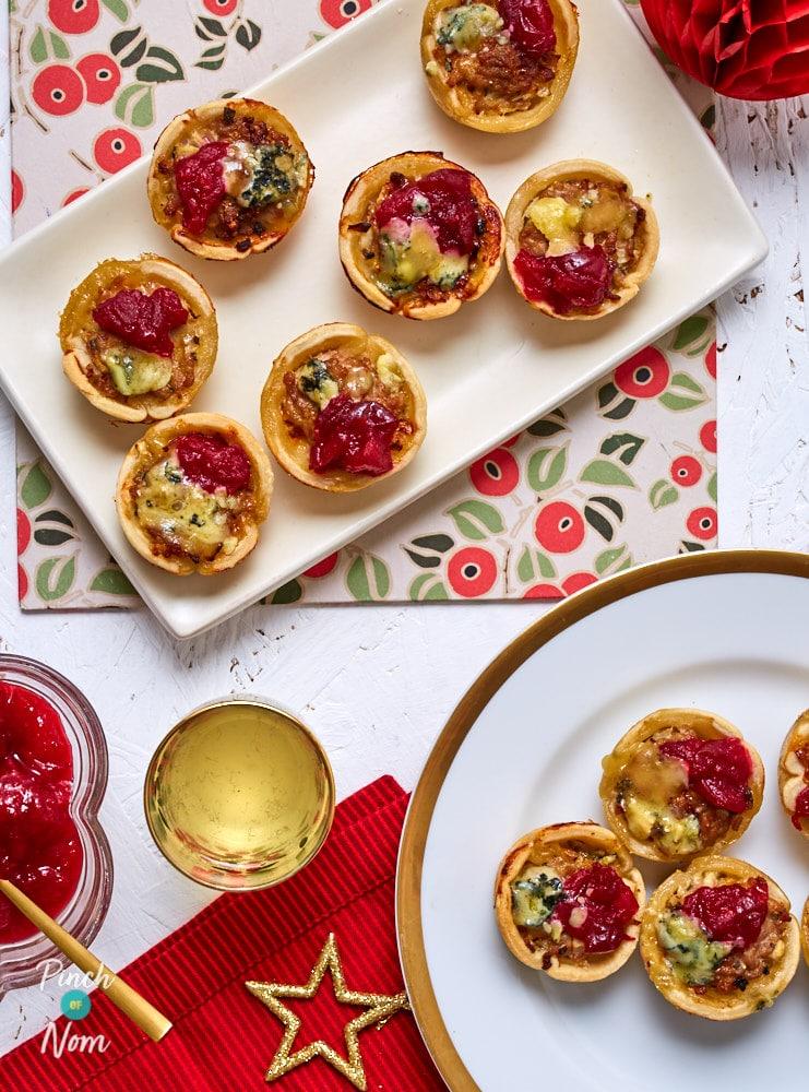Mini Pork and Stilton Pies - Pinch of Nom Slimming Recipes