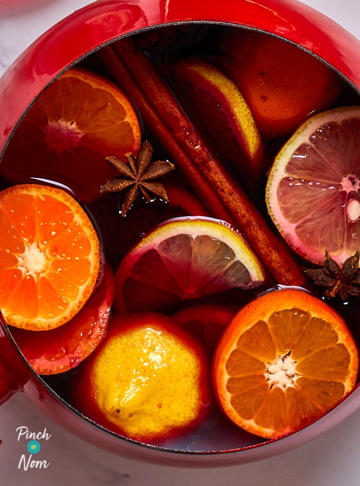 Mulled Wine - Pinch of Nom Slimming Recipes