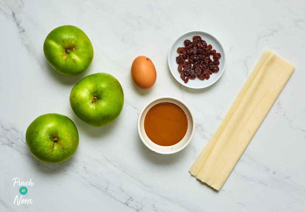 Toffee Apple Pies - Pinch of Nom Slimming Recipes