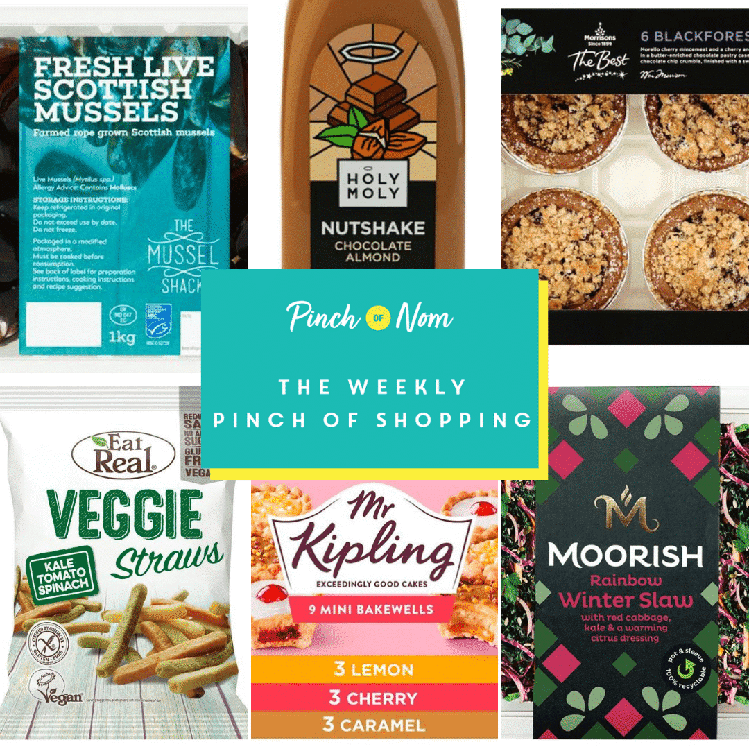 The Weekly Pinch of Shopping   Pinch of Nom Slimming Recipes