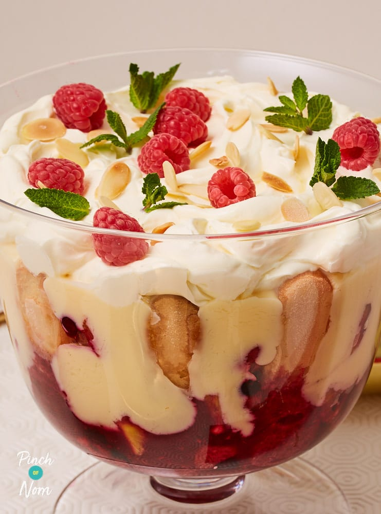 Christmas Trifle - Pinch of Nom Slimming Recipes