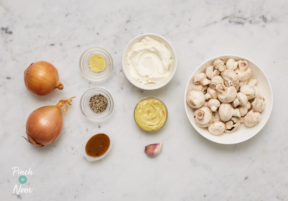 Creamy Dijon Sauce - Pinch of Nom Slimming Recipes