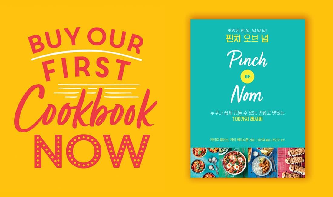 Our First Book – Korean Edition pinchofnom.com