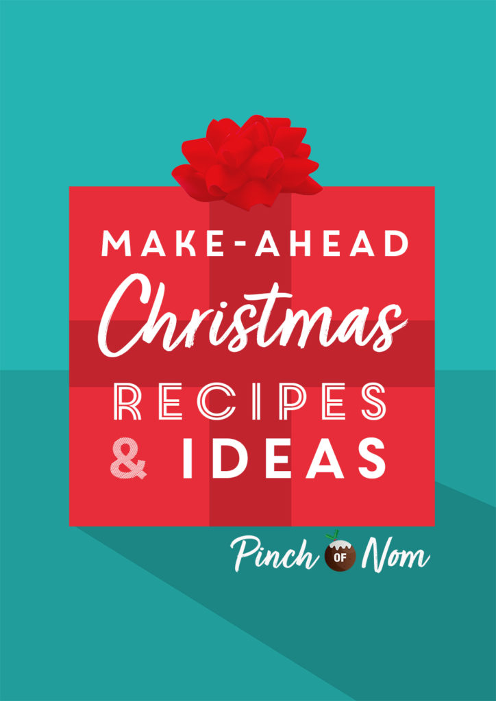 Make-ahead Christmas Recipes and Ideas - Pinch of Nom Slimming Recipes