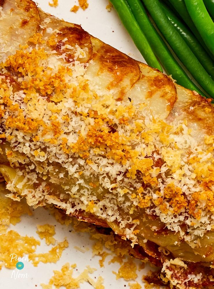 Scalloped Potato Roll | Pinch of Nom Slimming Recipes