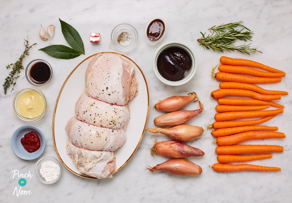 Slow Cooker Christmas Turkey Joint - Pinch of Nom Slimming Recipes