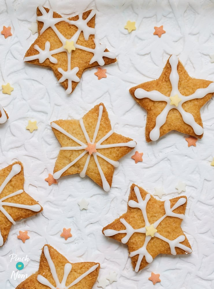 Spiced Christmas Biscuits - Pinch of Nom Slimming Recipes