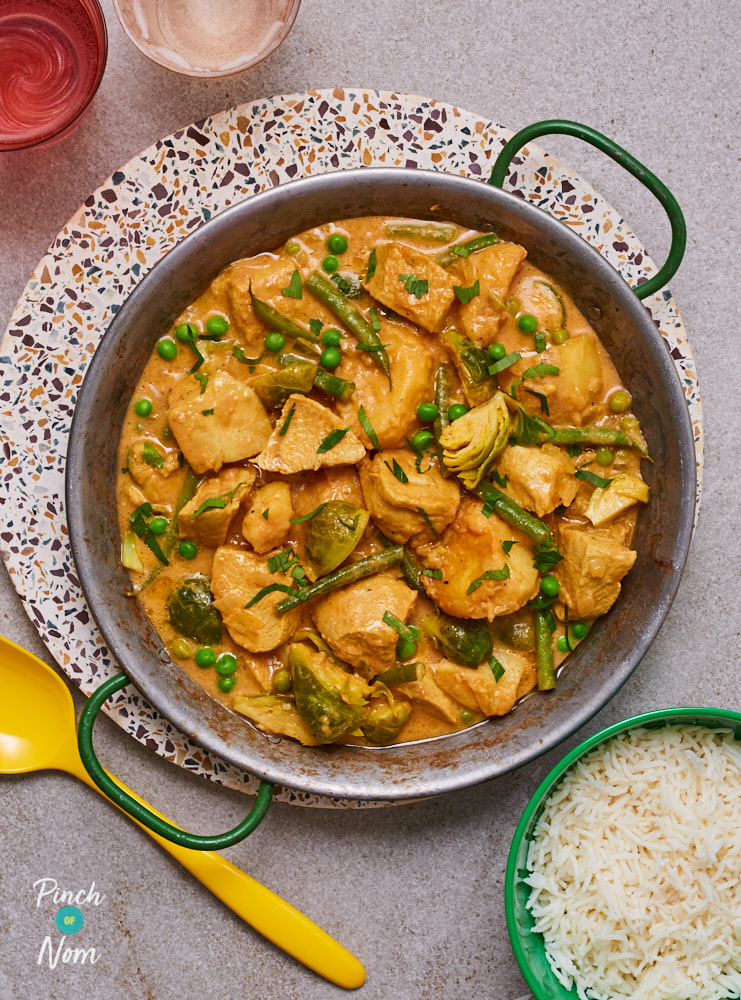 Turkey Curry - Pinch of Nom Slimming Recipes