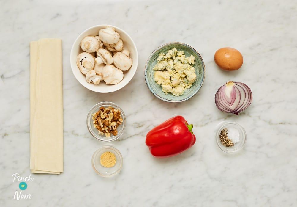 Veggie Filo Crackers - Pinch of Nom Slimming Recipes