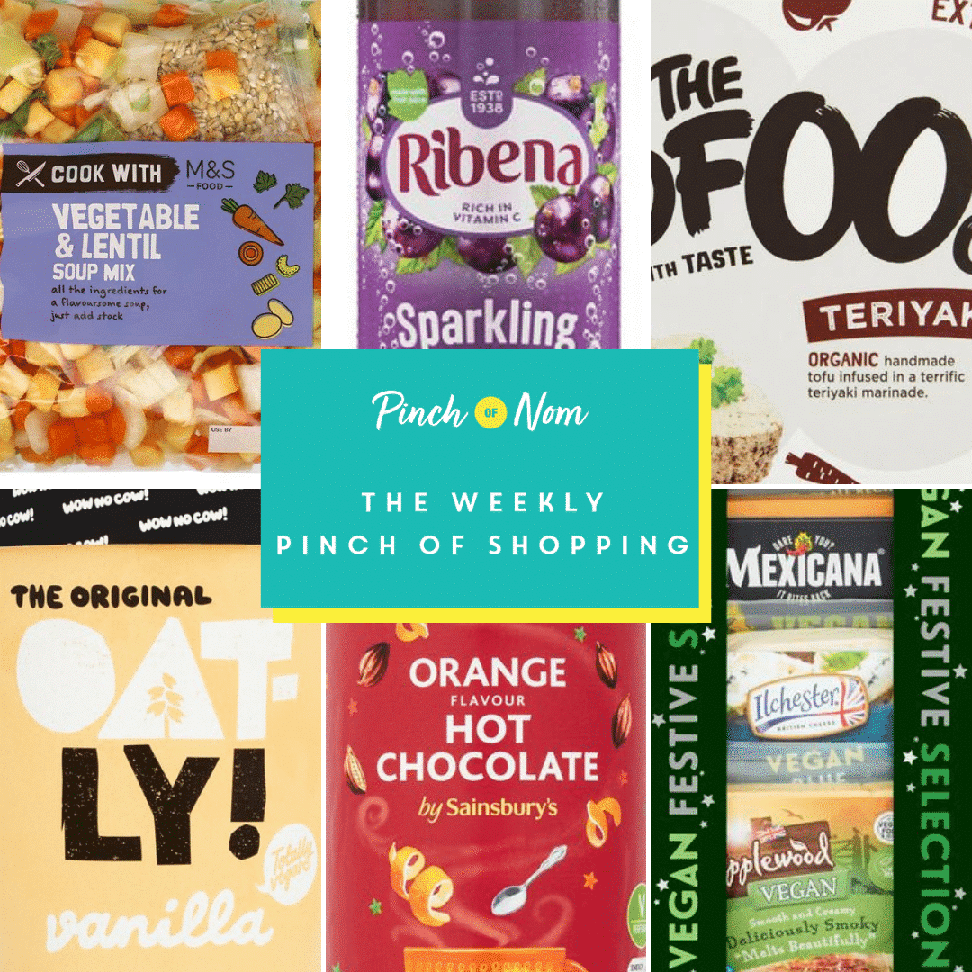 The Weekly Pinch of Shopping | Pinch of Nom Slimming Recipes