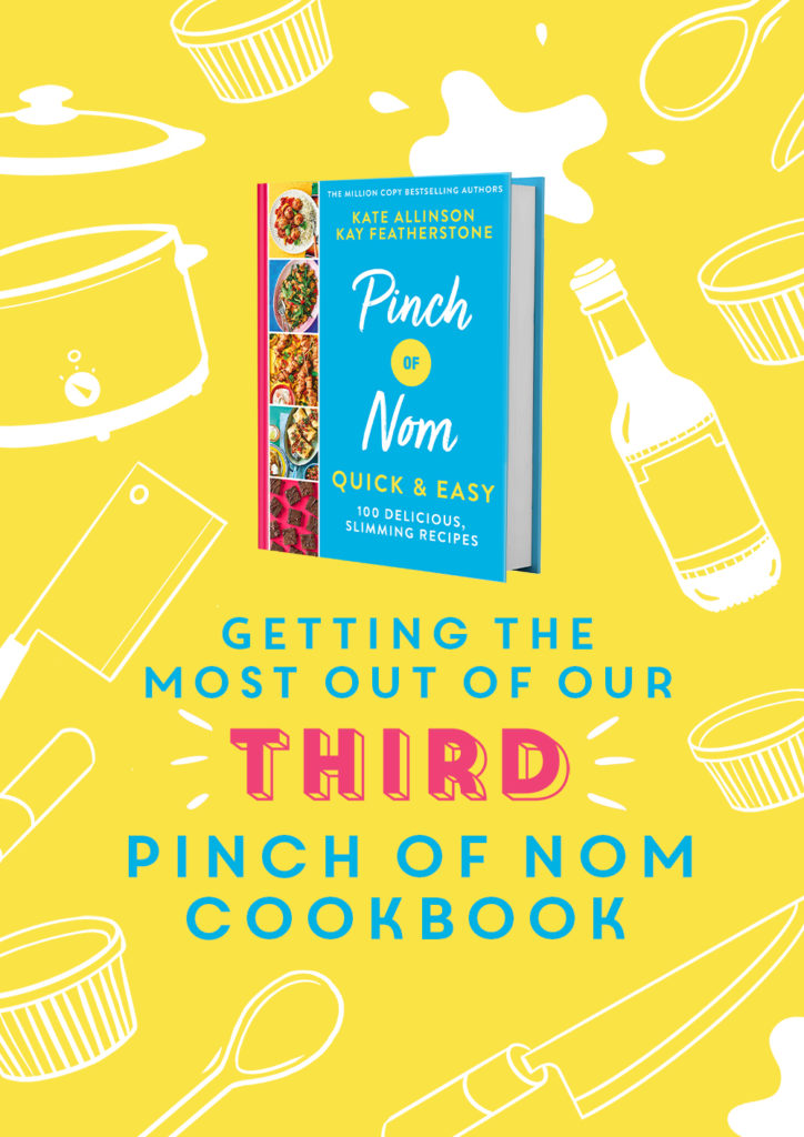 Our Third Cookbook | Pinch of Nom Slimming Recipes