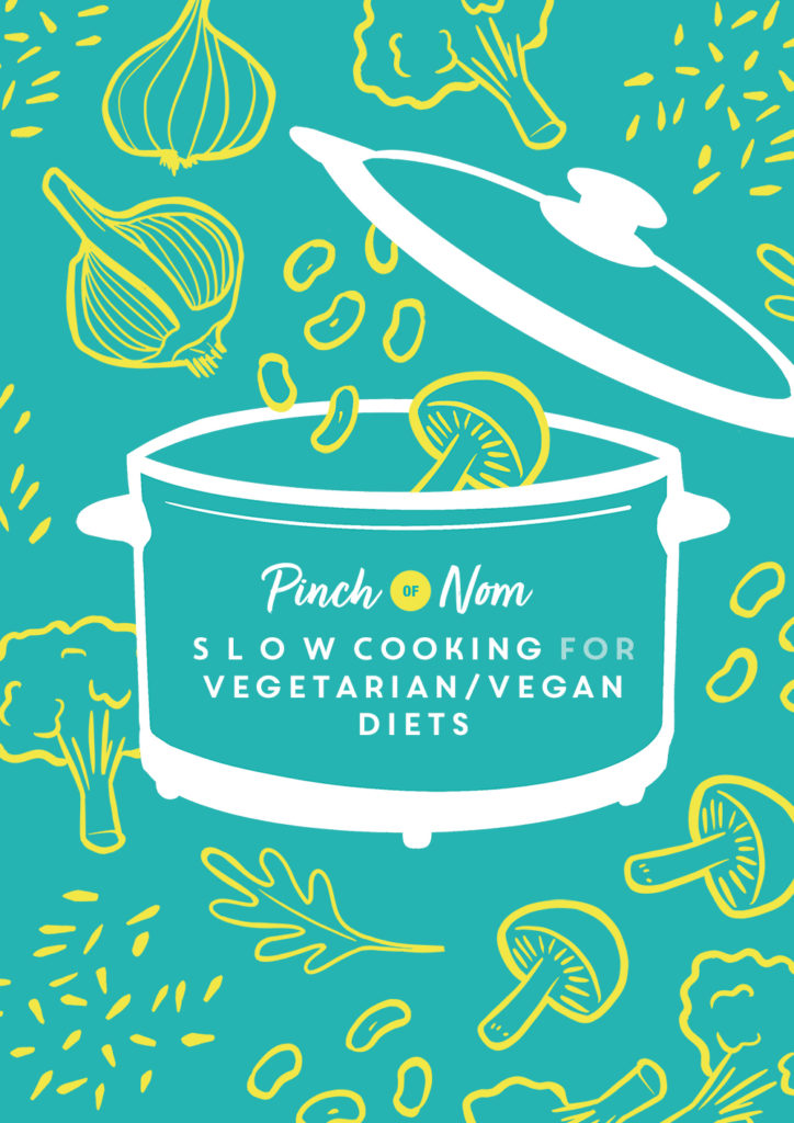 Slow Cooking for Vegetarian and Vegan Diets - Pinch of Nom Slimming Recipes