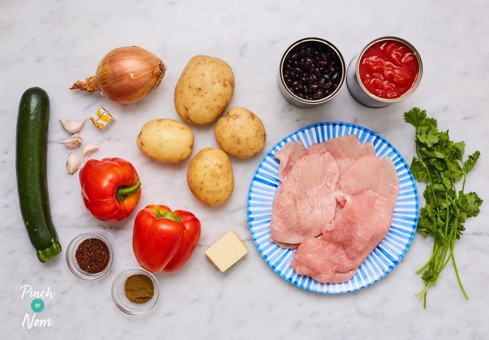 Spicy Turkey Hotpot - Pinch of Nom Slimming Recipes