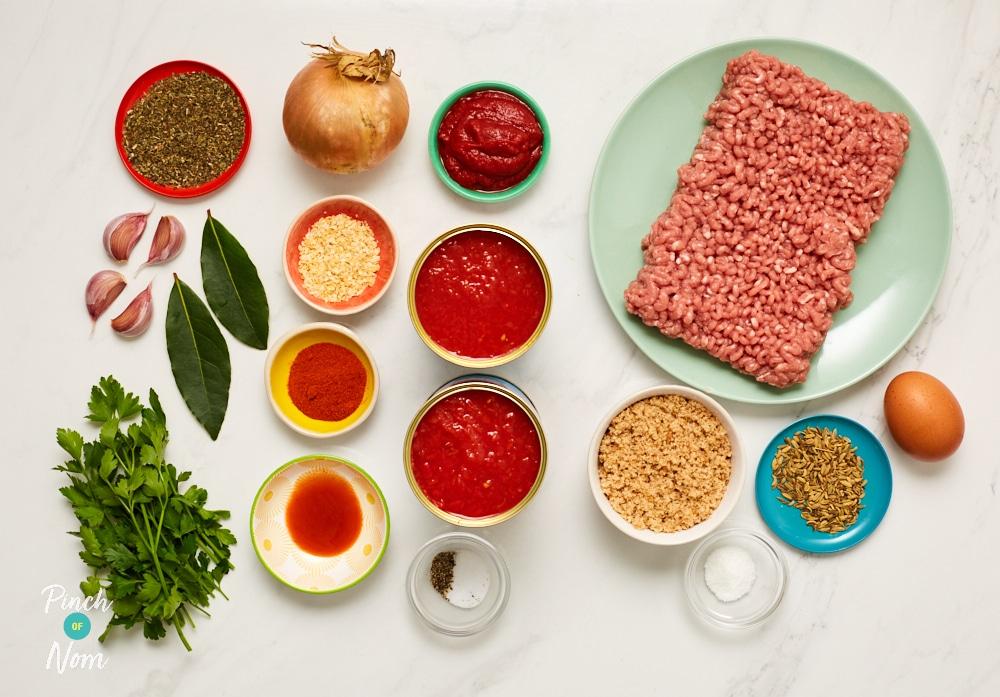 Spanish Meatballs | Pinch of Nom Slimming Recipes
