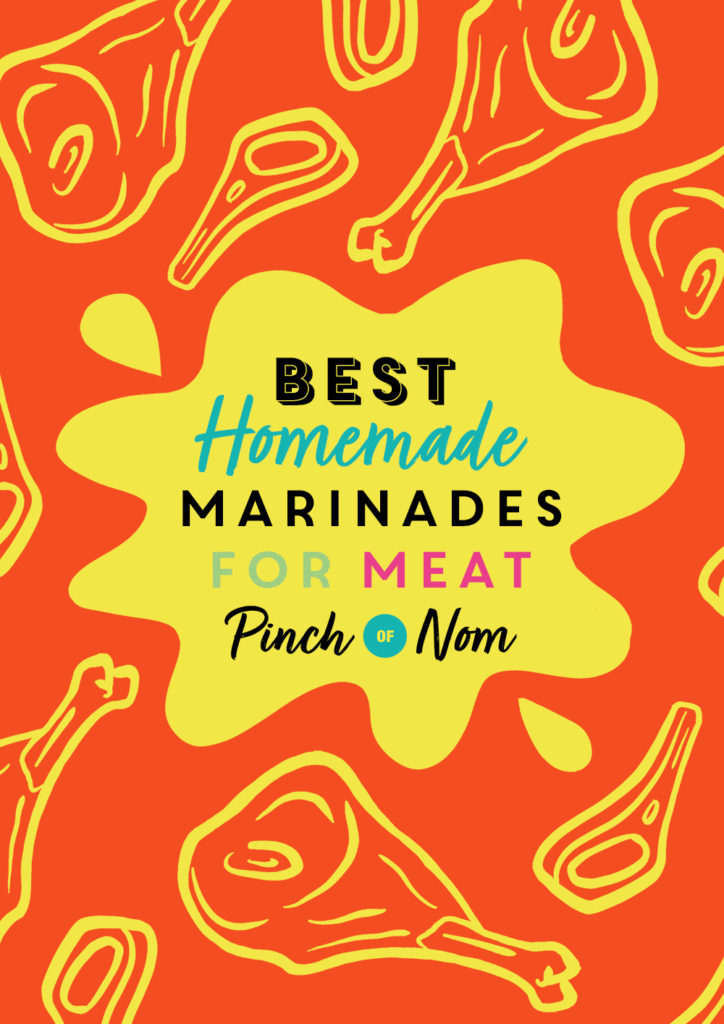 Best Homemade Marinades for Meat | Pinch of Nom Slimming Recipes