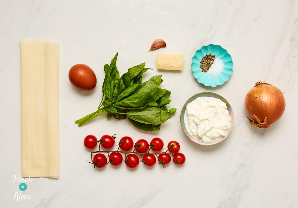 Tomato and Basil Tarts - Pinch of Nom Slimming Recipes