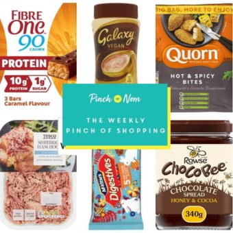 Your Slimming Essentials - The Weekly Pinch of Shopping 19.03 pinchofnom.com