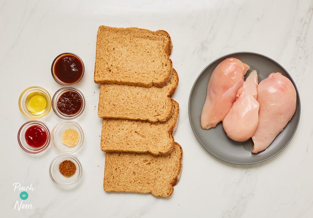 BBQ Chicken Nuggets - Pinch of Nom Slimming Recipes