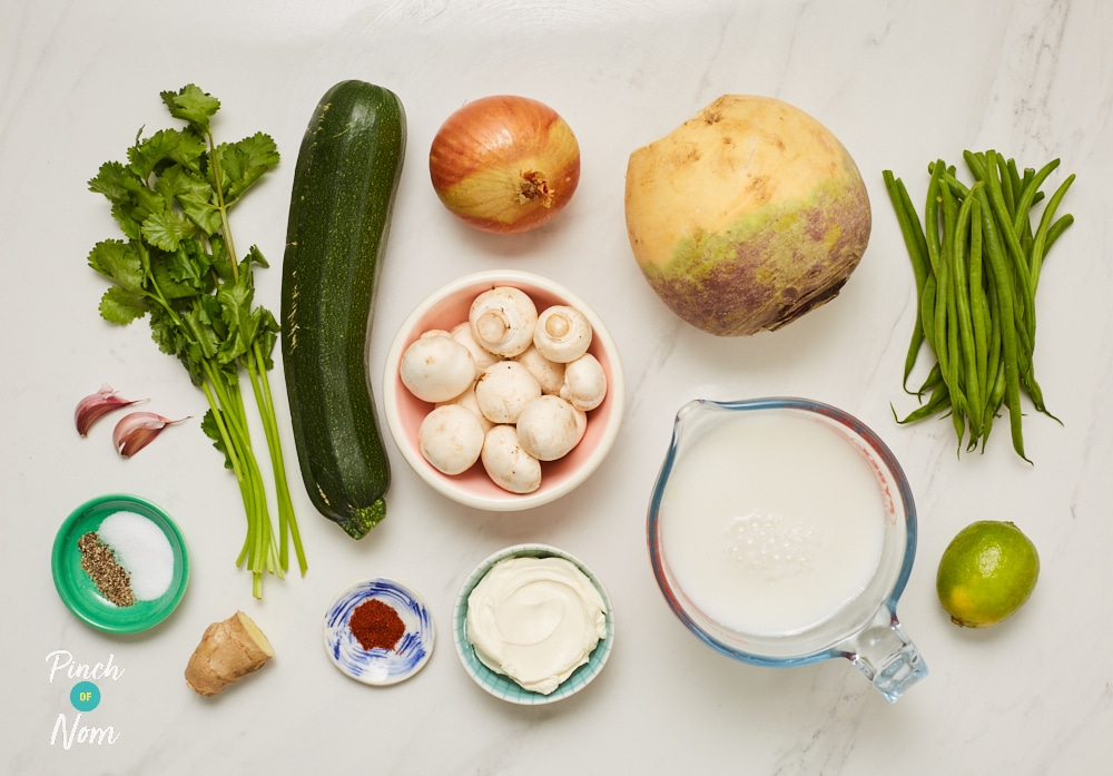 Vegetable Coconut Curry - Pinch of Nom Slimming Recipes