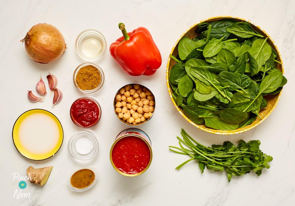 Vegetarian Tikka Masala - Pinch of Nom Slimming Recipes