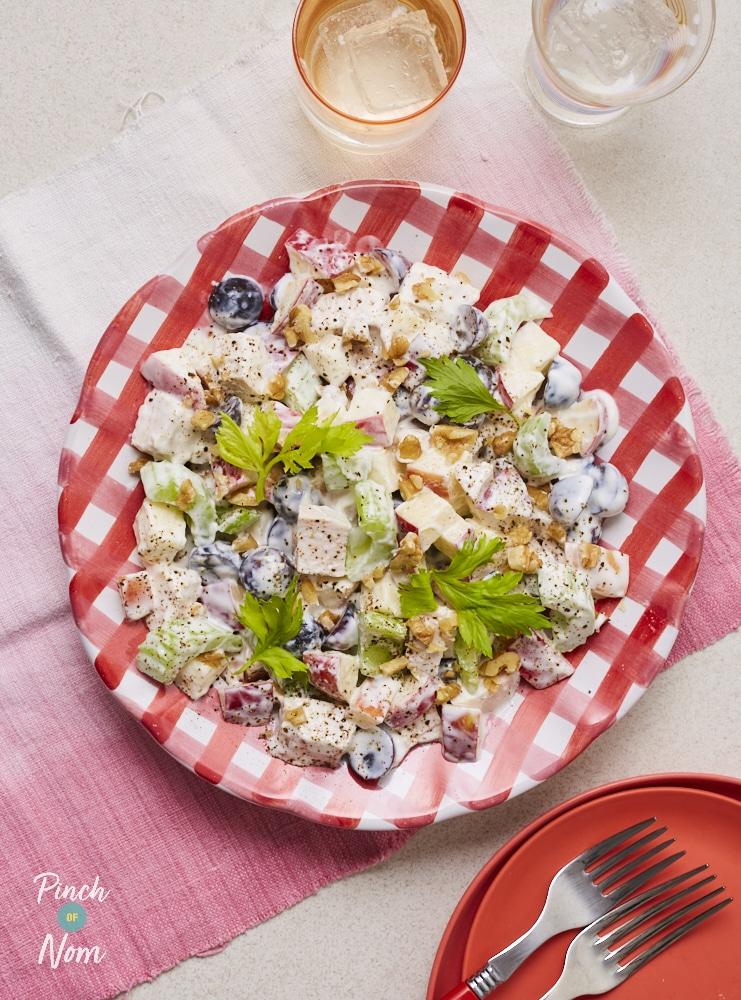 Chicken Waldorf Salad - Pinch of Nom Slimming Recipes