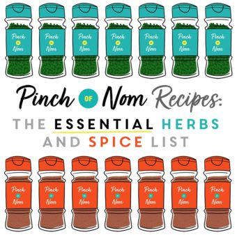 Pinch of Nom Recipes: The Essential Herbs and Spice List pinchofnom.com