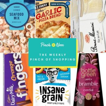 Your Slimming Essentials - The Weekly Pinch of Shopping 28.05 pinchofnom.com