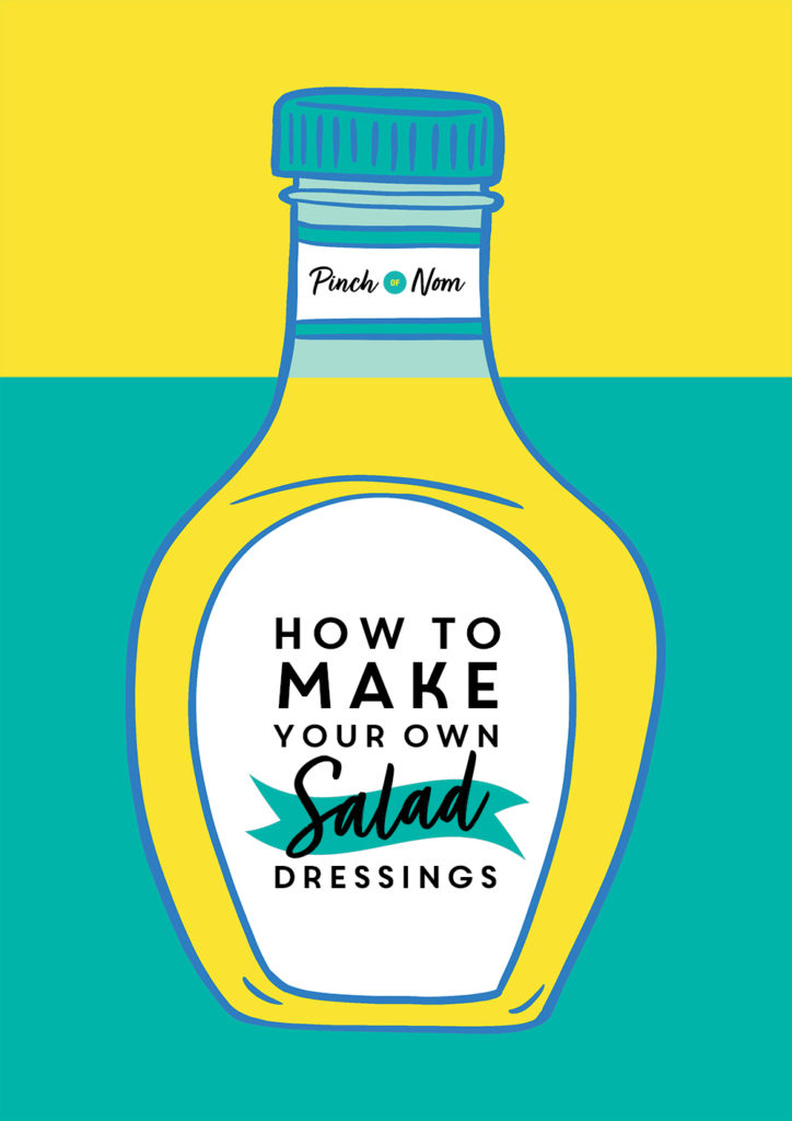 How to make your own salad dressings - Pinch of Nom Slimming Recipes