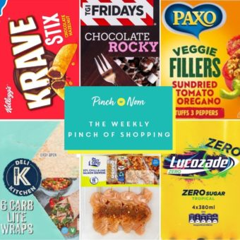 Your Slimming Essentials – The Weekly Pinch of Shopping 18.06 pinchofnom.com