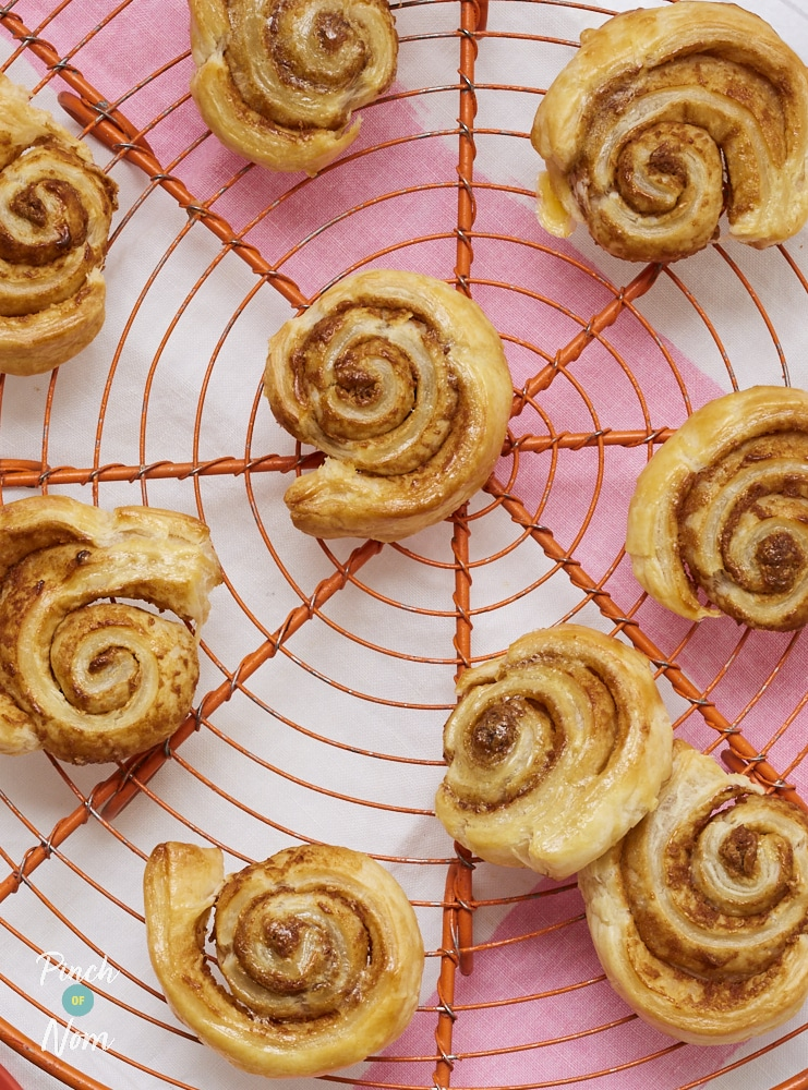 Biscoff Swirls - Pinch of Nom Slimming Recipes