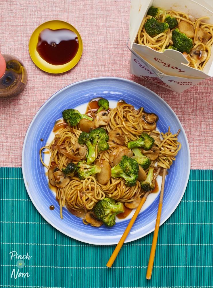 Broccoli and Mushroom Stir Fry - Pinch of Nom Slimming Recipes
