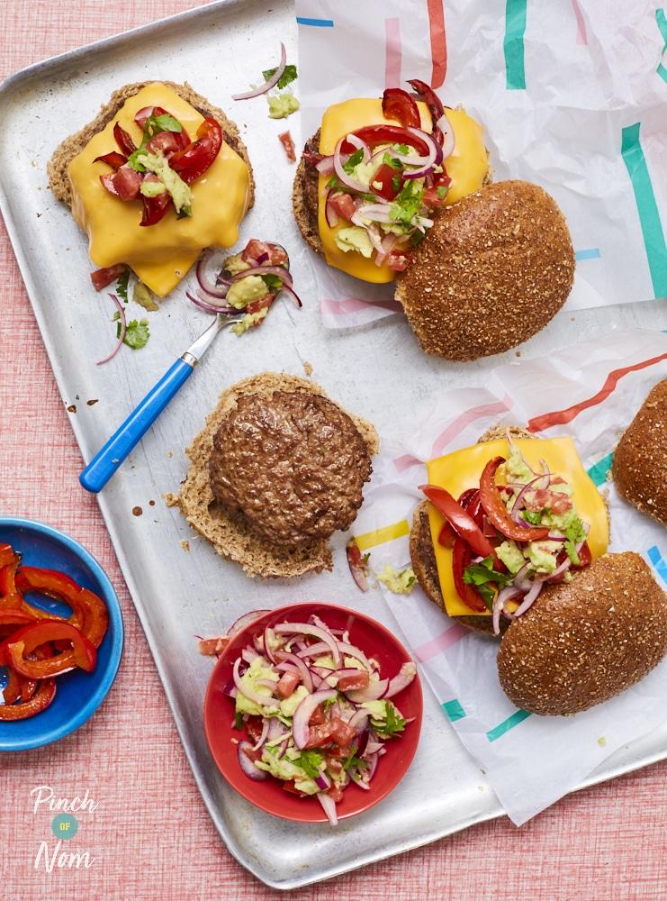 Burrito Burgers - Pinch of Nom Slimming Recipes