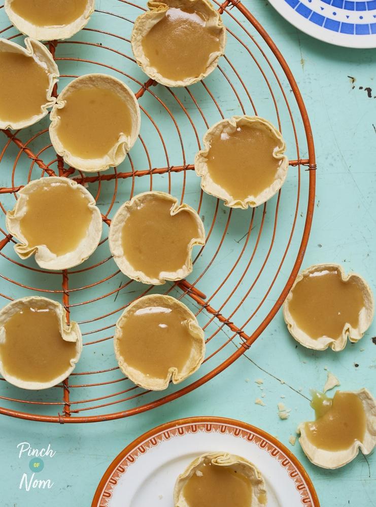 Butterscotch Tarts - Pinch of Nom Slimming Recipes