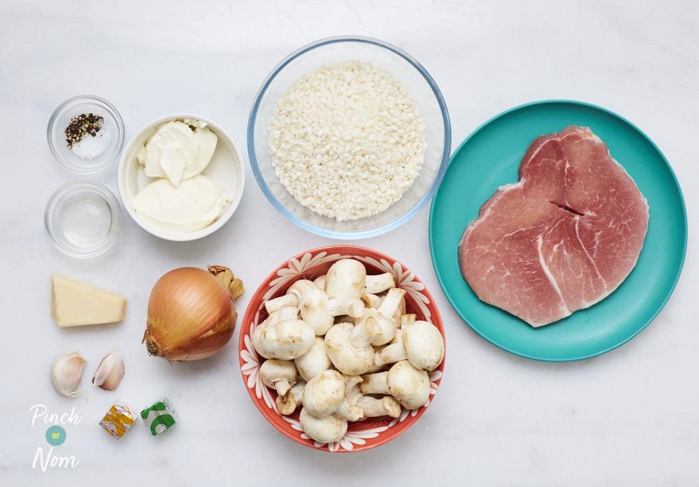 Carbonara Risotto - Pinch of Nom Slimming Recipes
