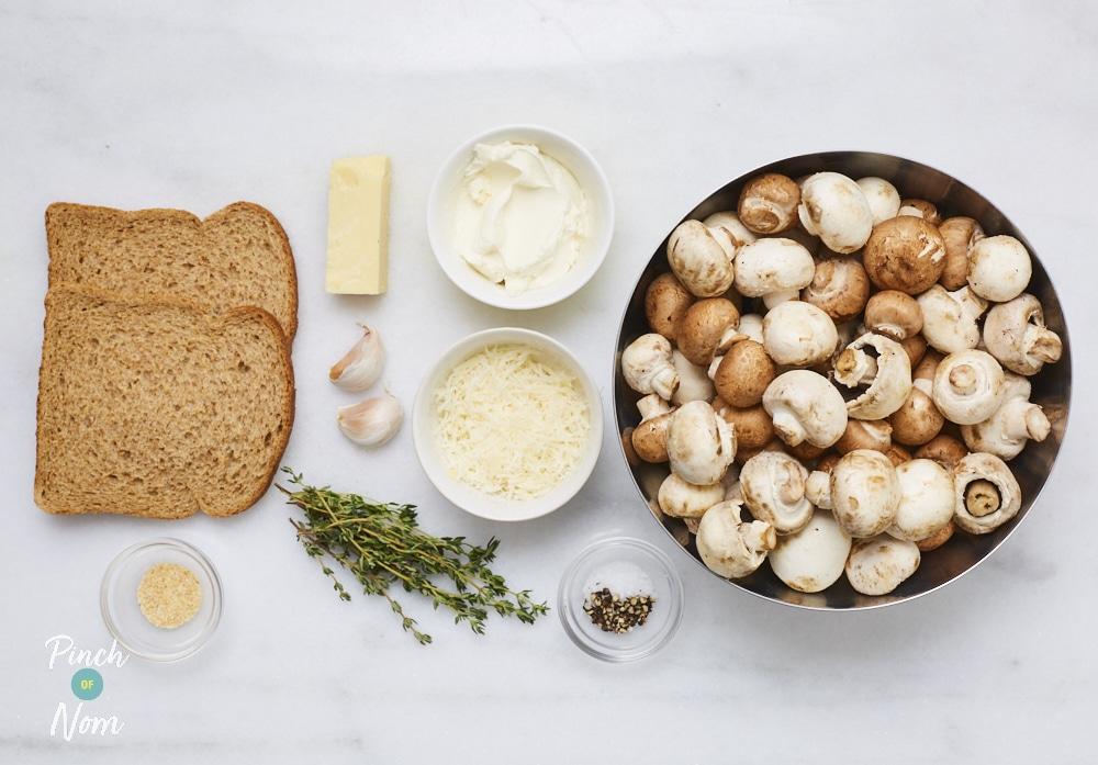 Cheesy Mushroom Bake - Pinch of Nom Slimming Recipes
