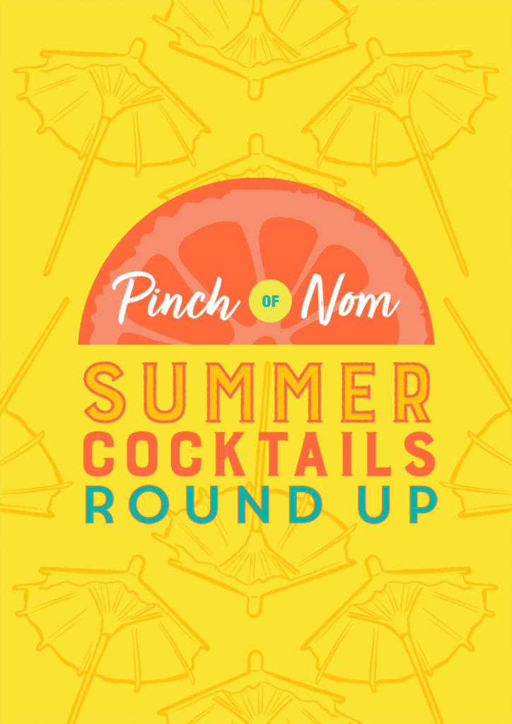 Summer Cocktails Roundup - pinch of Nom Slimming Recipes