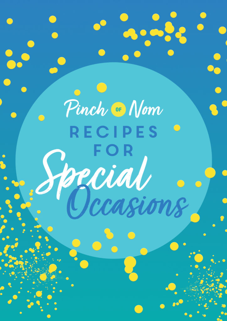 Recipes for Special Occasions - Pinch of Nom Slimming Recipes